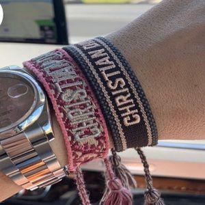 Pink Dior Bracelet